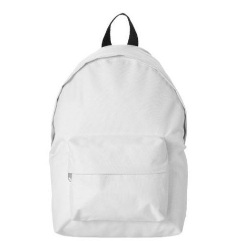 Campus backpack<br>600D Poly. White
